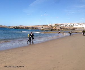 Scuba Diving at Abades Beach, Tenerife