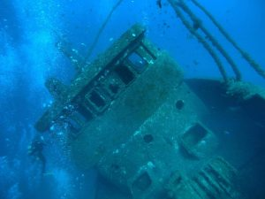 Diving Tabaiba Wreck in Tenerife with Excel Scuba