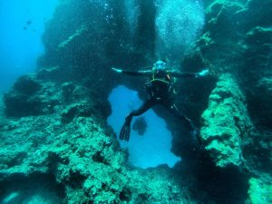 Yellow Mountain, Tenerife. Diving with Excel Scuba
